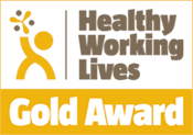 Healthy Working Lives Gold Accreditation