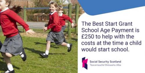 Social Security Scotland, Best Start Grant - School Age Payment