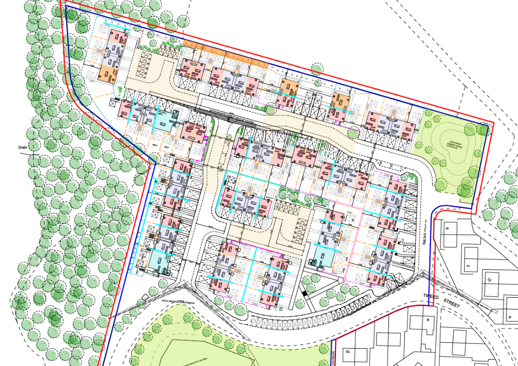 Tweed Street and Tay Street Site Plan