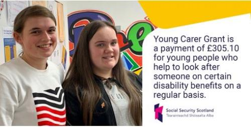 Social Security Scotland Young Carer Grant